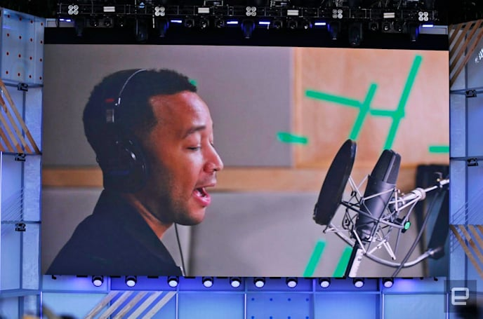 John Legend is one of six new Google Assistant voices
