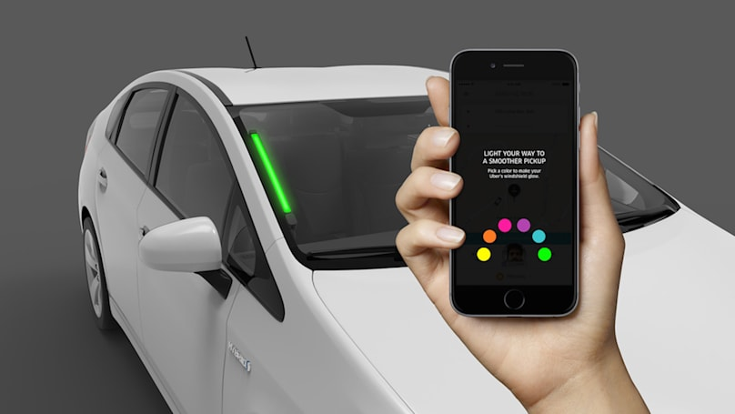 Uber color coding experiment promises smoother pickups