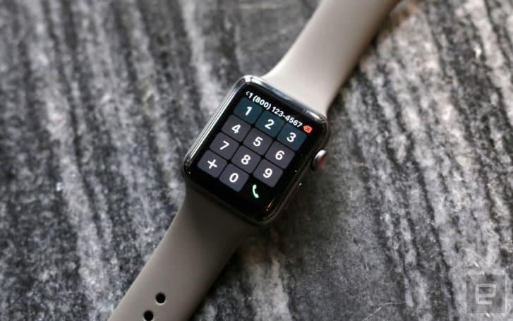 真正无束缚,Apple Watch Series 3 LTE 来月香港上架