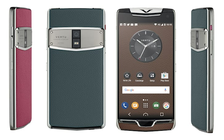 Vertu's latest luxury Android phone is built for jetsetters