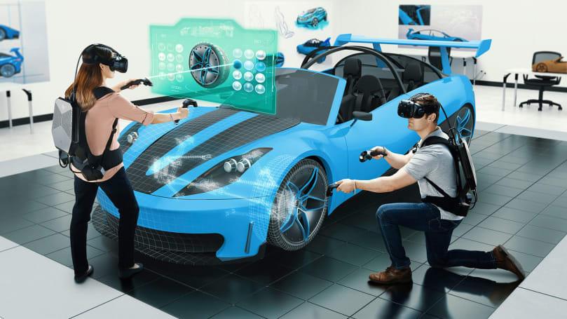 惠普为专业市场推出 VR 背包电脑