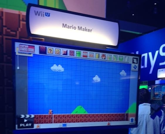 Seen@E3: Making Marios