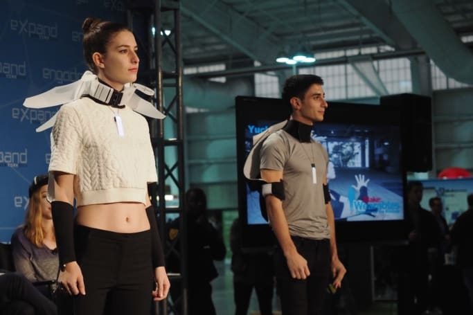 Check out how designers are fusing fashion and tech