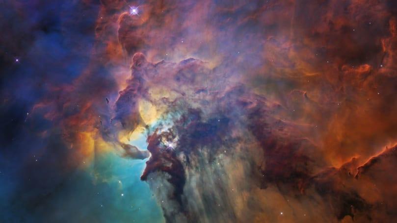 Hubble flies through the Milky Way's 'raucous star nursery'