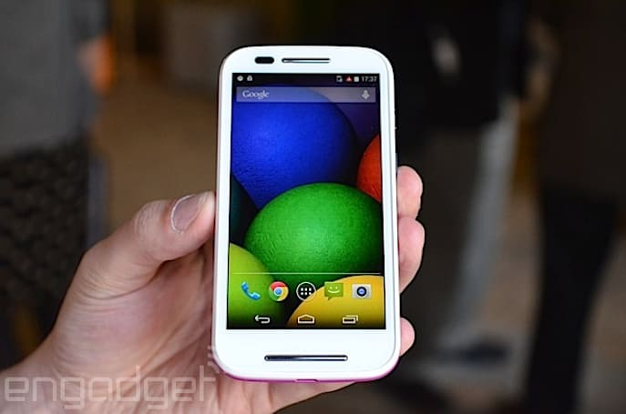 Motorola launches the $129 Moto E, a durable and affordable Android smartphone