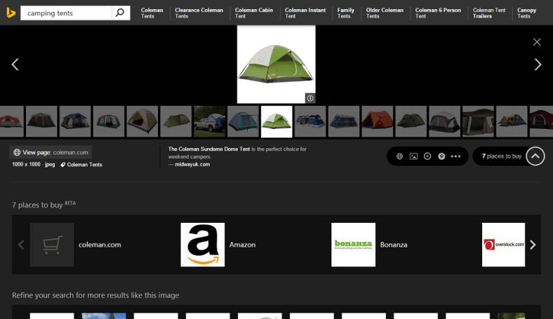 Bing 图片将让大家更方便地消费