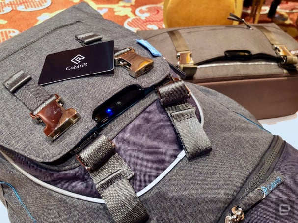 CabinR's travel bags keep thieves away with an annoying alarm