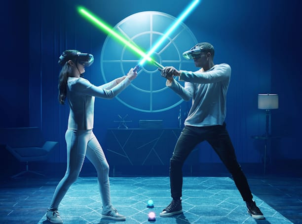 Challenge your friends to lightsaber duels in 'Star Wars: Jedi Challenges'