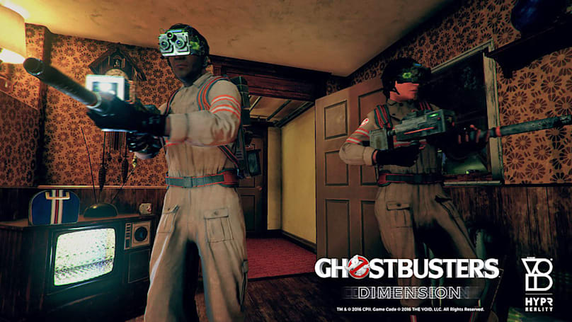'Ghostbusters: Dimension' is a glimpse at where VR is headed