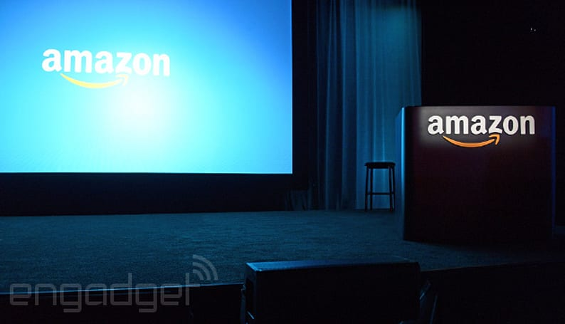 Live from Amazon's phone announcement in Seattle!