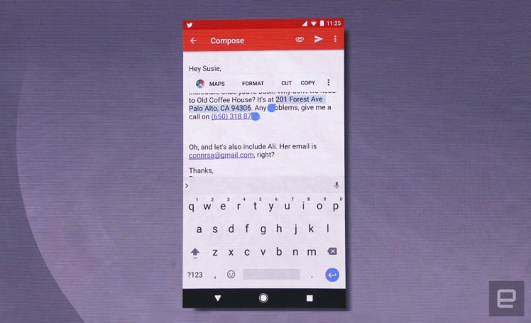 Android's built-in AI knows what you need to copy and paste