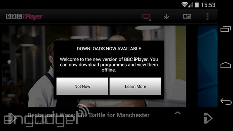 BBC iPlayer app now supports downloads on nearly all Android devices
