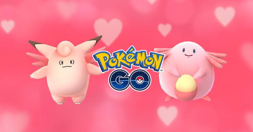 Pink creatures will invade 'Pokémon Go' this Valentine season