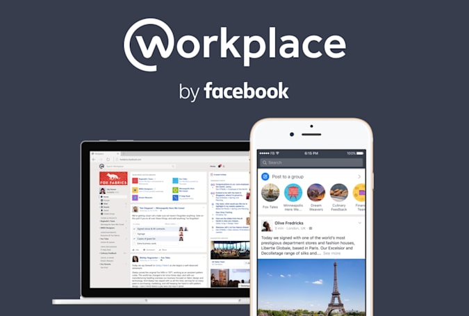Facebook at Work officially launches as 'Workplace'