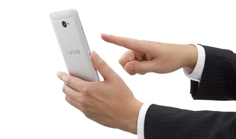For some reason, VAIO announces a Windows 10 phone