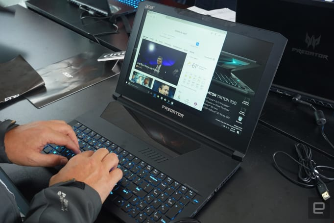 Acer's new Predator gaming laptop trades power for portability