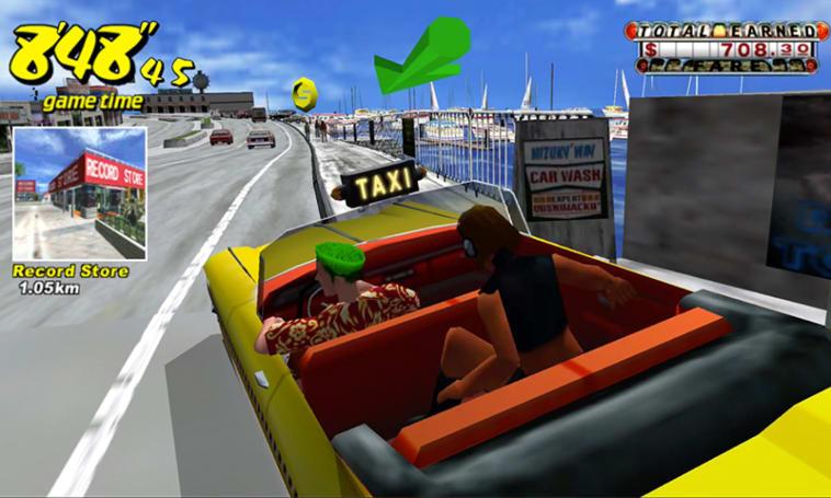 初代《疯狂出租车》手机版现已开放免费游玩!