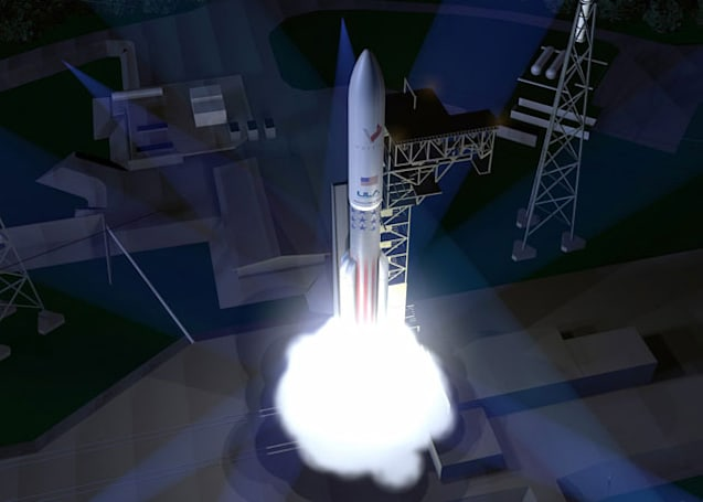 Here's the next rocket that will carry US satellites into space