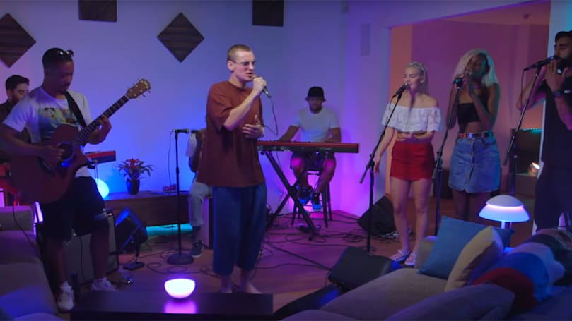 Watch Philips and Rudimental meld smart lighting with music
