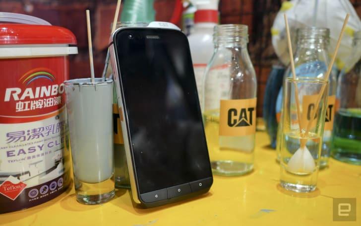 CAT S61 強固手機在台灣發表了