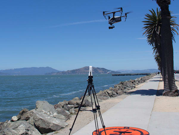 Sling's video production device can use DJI drones for footage