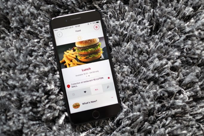 McDonald's brings mobile ordering to the UK