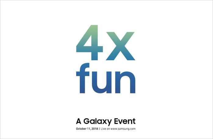 Samsung 在 10 月 11 日將帶來「四倍有趣」的 Galaxy 新品