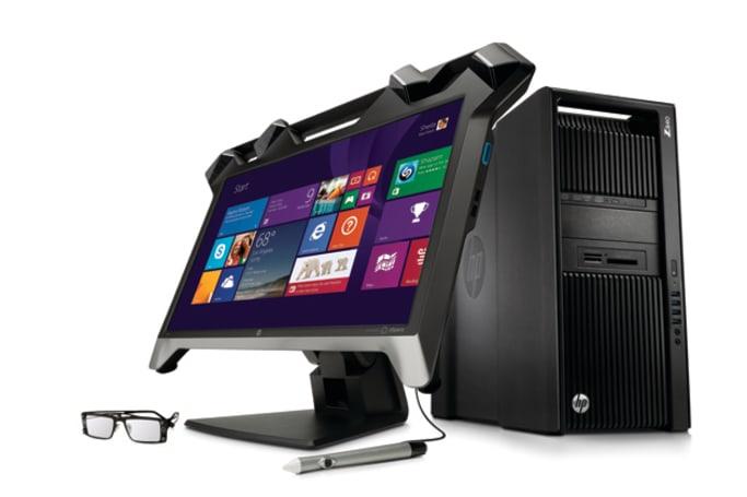 HP 发表一系列曲面、5K、4K 和虚拟实境 3D 屏幕