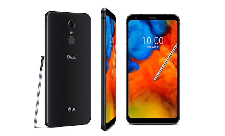 LG's Q Stylus phone is a budget Galaxy Note rival