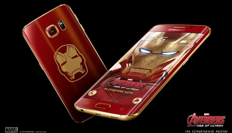 Samsung's Iron Man edition Galaxy S6 Edge lacks J.A.R.V.I.S.