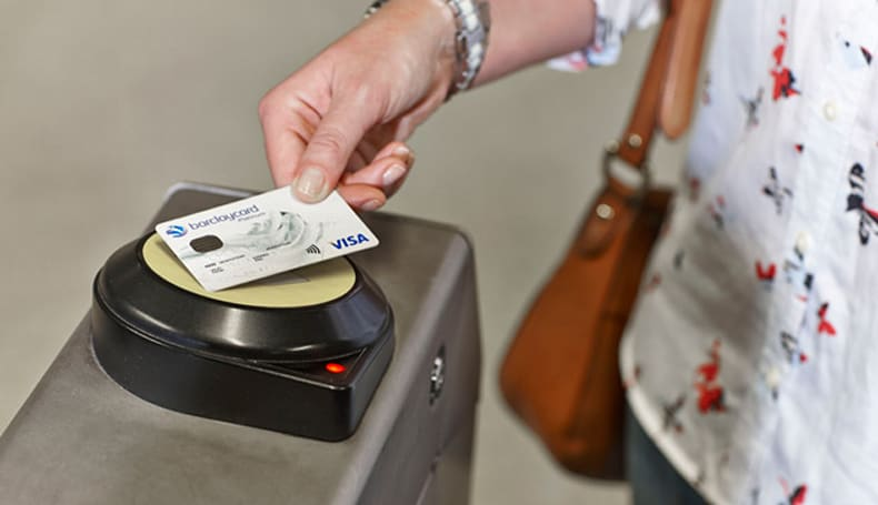 Londoners can now give to charity by paying for travel with a contactless card