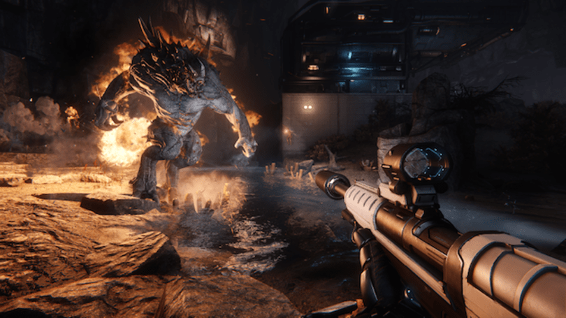 'Evolve' simplifies the hunt with free deathmatch arena mode