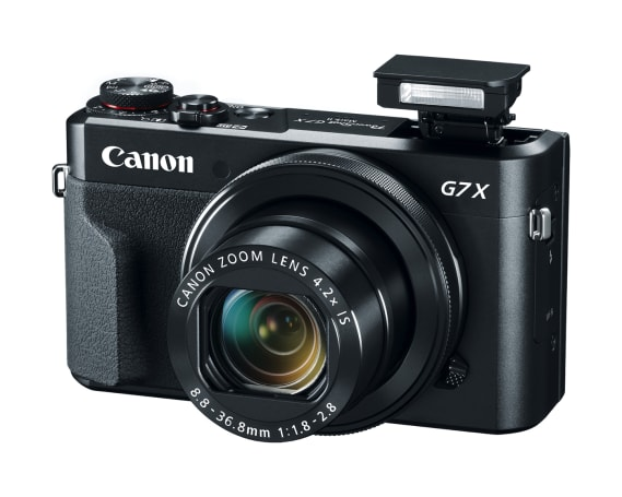 Canon reveals the G7 X Mark II and SX720 HS PowerShot cameras