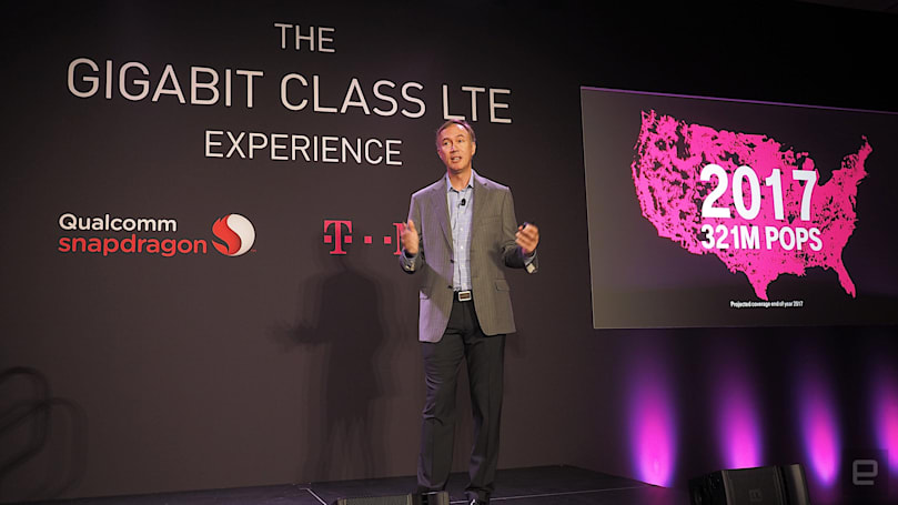 T-Mobile more than doubles its gigabit LTE availability