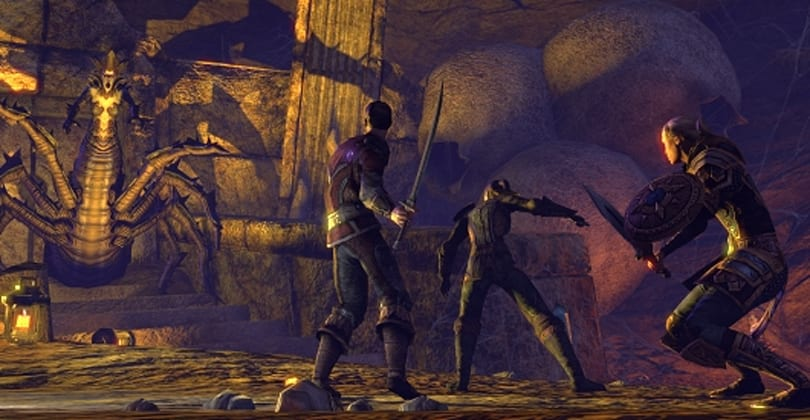 The Elder Scrolls Online pushes players to Upper Craglorn in Update 4