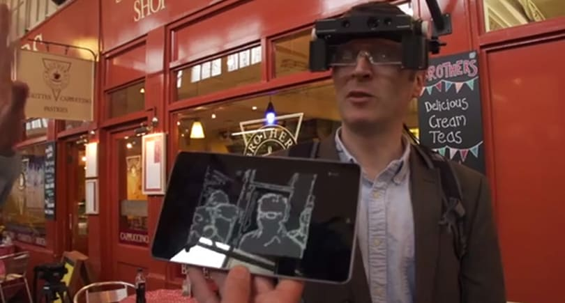 Oxford University's smart glasses help people with partial vision see more detail