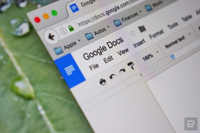 谁打开过你的 Google 文件,现在都会有记录啊