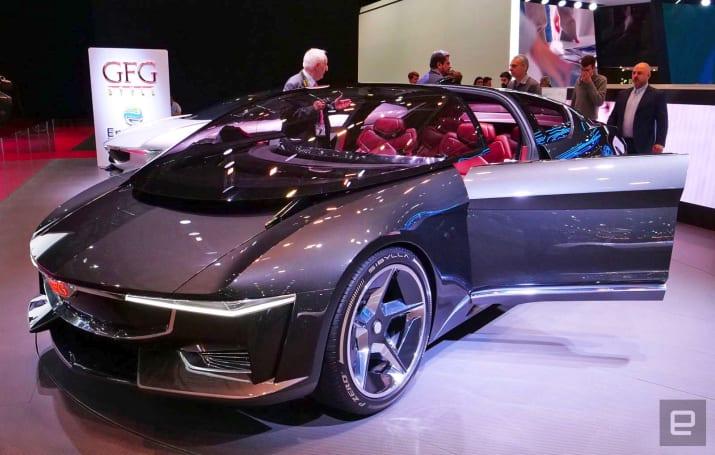 Giugiaro's supercar concept EV gives back to the power grid