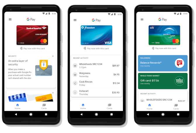 Android Pay 從今天開始變身 Google Pay 啦!
