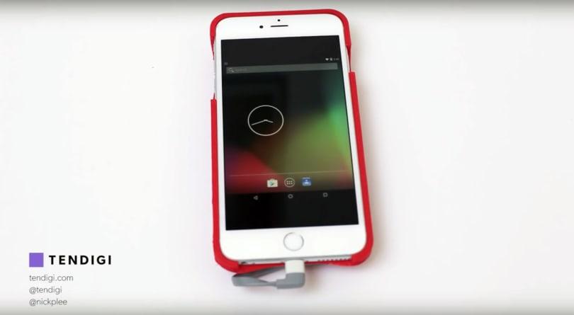 这款保护套让你能在 iPhone 上「运行」Android 系统