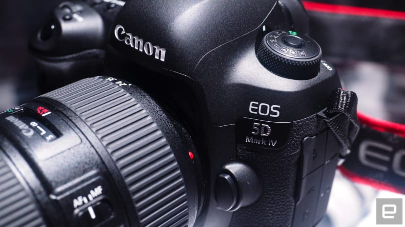 A first look at Canon's EOS 5D Mark IV
