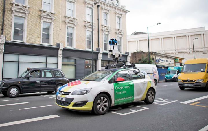 谷歌街景车将会监测伦敦的空气品质