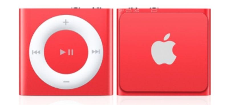 iPod shuffle stocks are dwindling