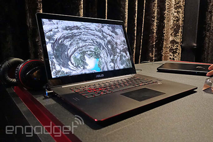 ASUS crams 4K gaming into a sleek and distinctive laptop