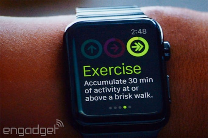 Apple Watch monitors your activity and workouts with two separate apps