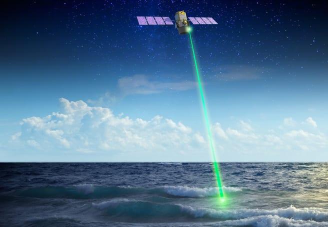 NASA uses space laser to study polar ocean plants