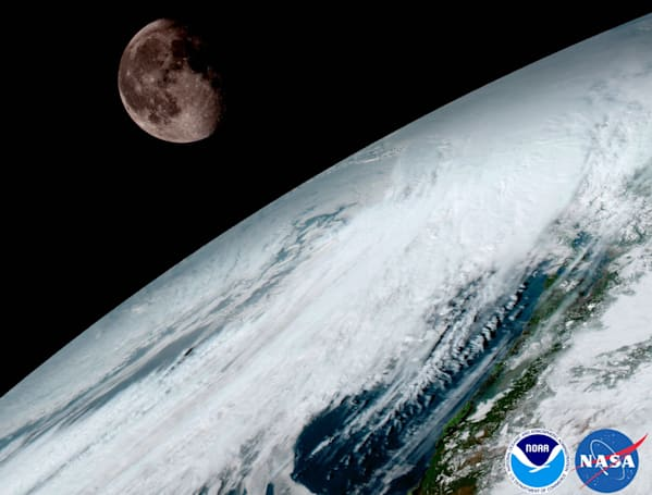 NOAA's next-gen weather satellite sends back its first images
