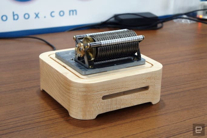 The humble music box gets a 21st century update