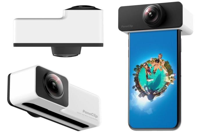 Insta360 的兄弟品牌 PanoClip 出了套平价 iPhone 全景拍摄镜组