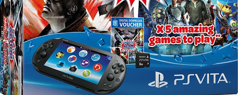 Europe's getting a 5-game Vita Slim bundle this summer
